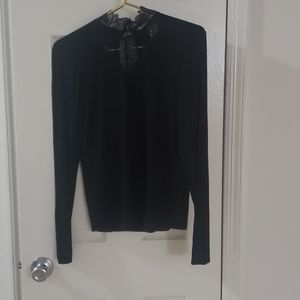 NWT American Rag Long Sleeve Shirt with lace